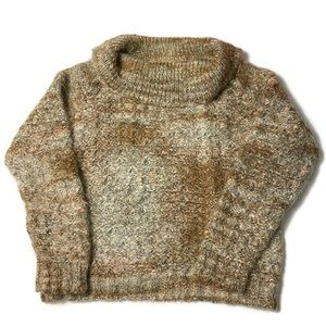Bernat Klein Vintage Cowl Neck Mohair Sweater